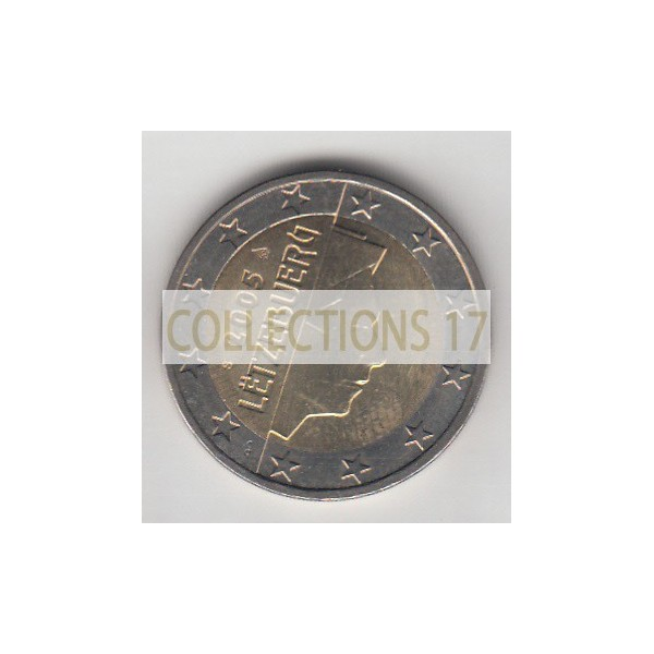 2 Euros Luxembourg 2005