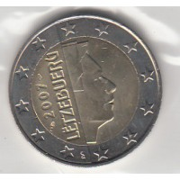 2 Euros Luxembourg 2007