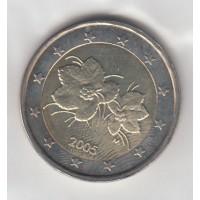 2 Euros Finlande 2005 (UNC Sortie de Rouleau)