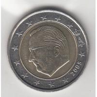 2 Euros Belgique 2005 (UNC Sortie de Rouleau)