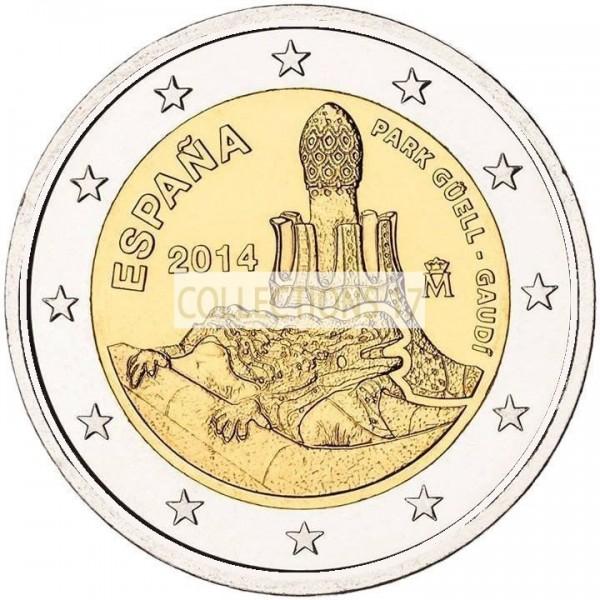 2 €uros Espagne 2014