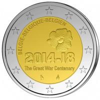 2 €uros Belgique 2014
