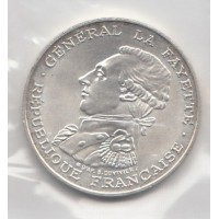 100 Francs La Fayette - 1987