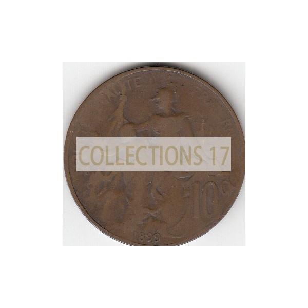10 Centimes Dupuis 1899