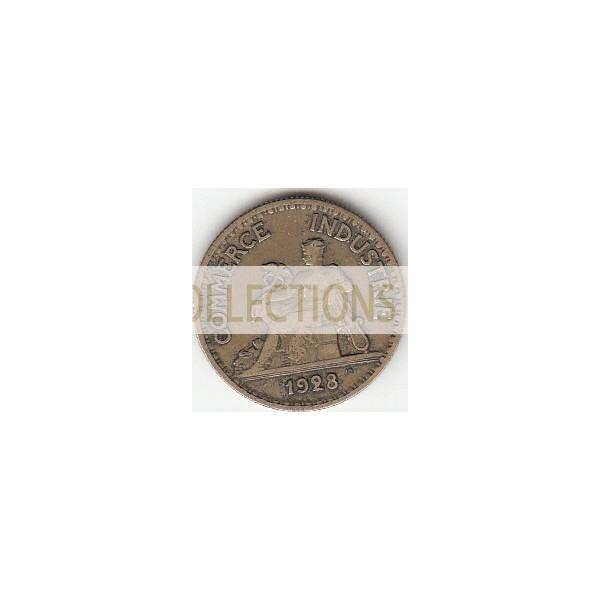 50 Centimes Chambres de Commerce 1928