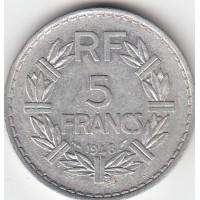 5 Francs Lavrillier 1948