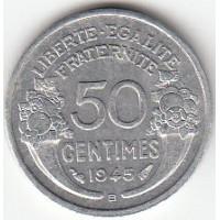50 Centimes Morlon alu - 1945 B