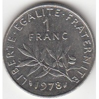 1 Franc Semeuse 1978