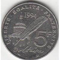 5 Francs Voltaire 1994
