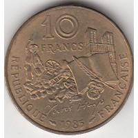 10 Francs Victor Hugo 1985 - Tranche A