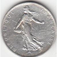 2 Francs Smeuse Argent 1910