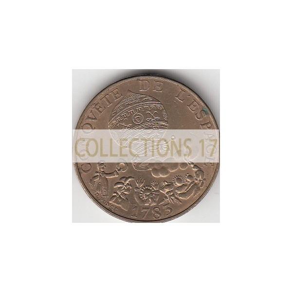 10 Francs Conquête de l'espace 1983 Tranche A