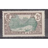 Timbre de l'Océanie - numéro 36 - neuf avec charnière