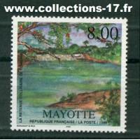 Mayotte - numéro 70 - Neuf sans charnières