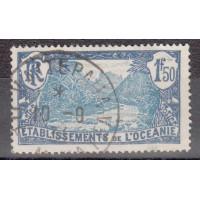 Timbre de l'Océanie - numéro 75 - oblitéré