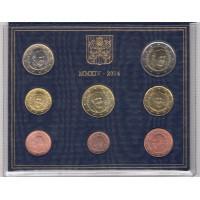 Coffret Vatican BU 2014 - 8 pièces
