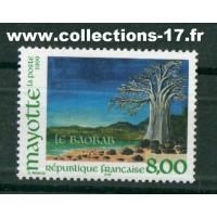 Mayotte - numéro 75 - Neuf sans charnières
