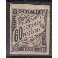 Colonies Françaises - Numéro taxe 11 - Neuf avec charnière