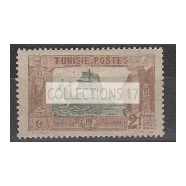 Timbres de Tunisie - numéro 40 - neuf avec charnère