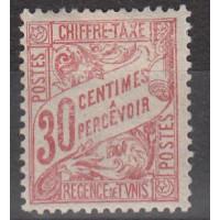 Timbres de Tunisie - numéro taxe 31 - neuf avec charnière
