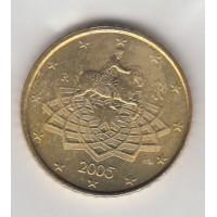 50 Centimes Italie 2005 (UNC Sortie de Coffret)
