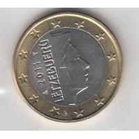1 Euro Luxembourg 2011 (UNC Sortie de Rouleau)