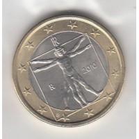 1 Euros Italie 2010