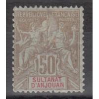 Sultanat d'Anjouan - Numéro 19 - Neuf avec charnière