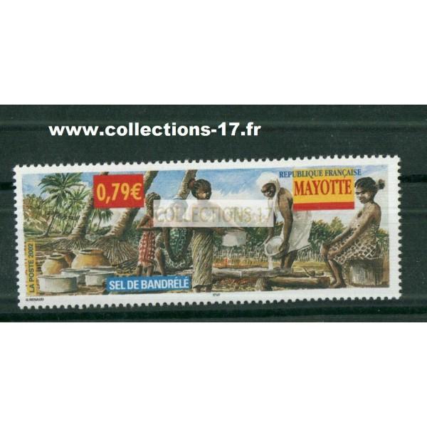 Mayotte - numéro 130 - Neuf sans charnières