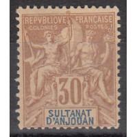 Sultanat d'Anjouan - Numéro 9 - Neuf sans gomme
