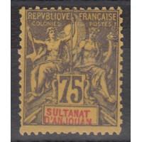 Sultanat d'Anjouan - Numéro 12 - Neuf sans gomme