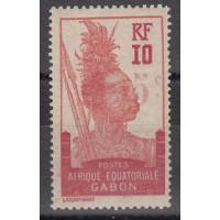 Gabon - numéro 79 - neuf avec charnière