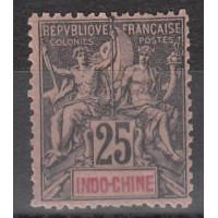 Indochine - numéro 10 - neuf avec charnière