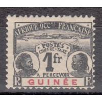 Guyane - numéro TAXE 15 - neuf avec charnière