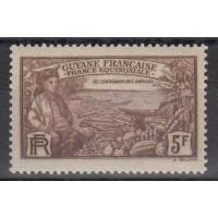 Guyane - numéro 141 - neuf avec charnière