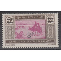 Mauritanie - numéro 54 - neuf avec charnière