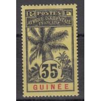 Guinée - numéro 41 - neuf avec charnière