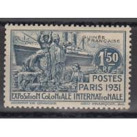 Guinée - numéro 118 - neuf avec charnière