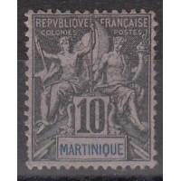 Martinique - numéro 35 - neuf avec charnière