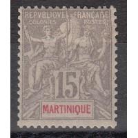 Martinique - numéro 46 - neuf avec charnière
