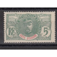 Cote d'Ivoire - numéro 24 - neuf avec charnière