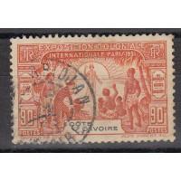 Cote d'Ivoire - numéro 86 - oblitéré