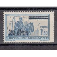 Cote d'Ivoire - numéro 101 - neuf avec charnière