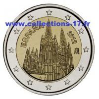 2 €uros Espagne 2012 (UNC Sortie de Rouleau)