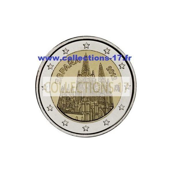 2 €uros Espagne 2012