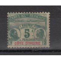 Cote d'Ivoire - numéro TAXE 1 - neuf avec charniere