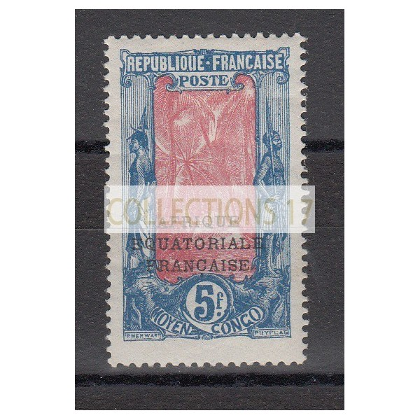 Congo - numéro 88 - neuf avec charnière