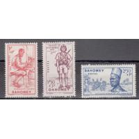 Dahomey - numéro 142/44 - oblitéré, neuf avec charnière