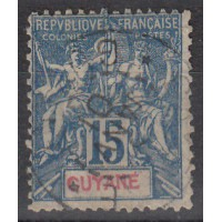 Guyane - numéro 35 - oblitéré