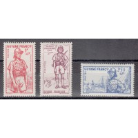 Guyane - numéro 169/71 - neuf avec charnière